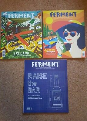 3 x Ferment Magazines Issues 23, 28 & 29 now only £1.50
