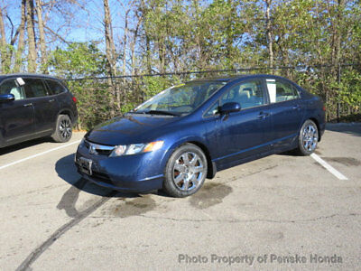 2006 Honda Civic Sedan LX Automatic LX Automatic 4 dr Sedan Automatic Gasoline 1.8L 4 Cyl Royal Blue Pearl