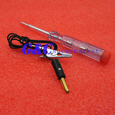 2PCS DC 6V-24V 12V Auto Car Motorcycle Circuit Voltage Tester Pen New best