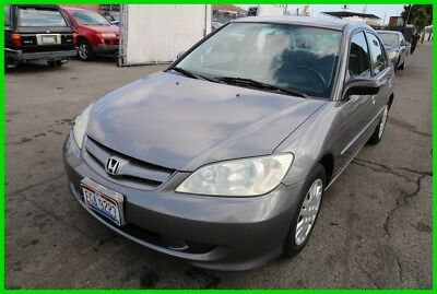 2005 Honda Civic LX 2005 Honda Civic LX Automatic 4 Cylinder NO RESERVE