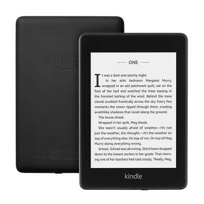 NEW Kindle Paperwhite 8GB 300dpi Waterproof w/ 2x the Storage 2018 Version Black