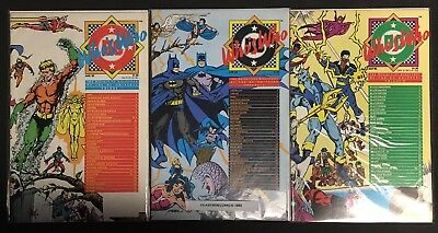 DC Comics WHO'S WHO DIRECTORY DC UNIVERSE #1-26 (Missing #12) 25 Comic Lot VF-NM