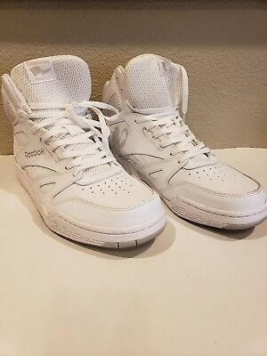 REEBOK ROYAL HI Men s White Royal Flag Basketball Shoes 675bf719f