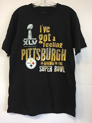 dc4ad9c8c NFL PITTSBURGH STEELERS Men s T Shirt Size M Logo Graphic Black Team ...