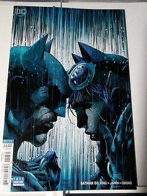 Batman (2016) #50 NM- 9.2 DC Comics Jim Lee Virgin Cover Variant