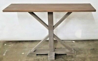 Sofa Table Console Table Restoration Hardware Salvage Look