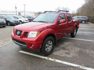 2012 Nissan Frontier 4WD Crew Cab SWB Automatic PRO-4X 4WD Crew Cab SWB Automatic PRO-4X 4 dr Truck Automatic Gasoline V6 Cyl Lava Red