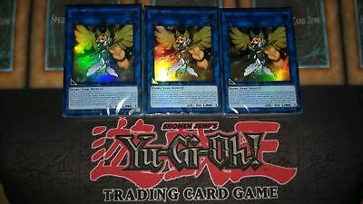 3 x Legendary Hero Nordic Decks 3x LEHD-ENB00 Sealed Yu-Gi-Oh