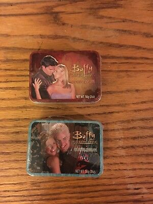 Buffy The Vampire Slayer Bubble Gum Mini Lunch Boxes Sealed