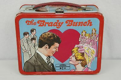 Vintage Rare 1970 The Brady Bunch Metal Lunch Box Only No Thermos King-Seeley Co