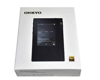 ONKYO 2017 High Res Digital Audio Player rubato DP-S1 Black 16GB Bluetooth New