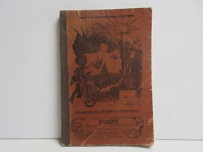 The All New Anti-Saloon Song Books, 1905