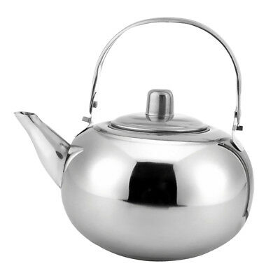 Camping Kettle Outdoor Portable Hiking Picnic Coffee Teapot Stainless Steel