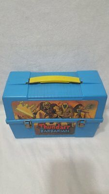 VIntage Aladdin Thundarr The Barbarian Lunchbox 1980-81