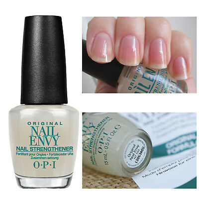 OPI LACQUER NAIL ENVY Strengthener/ Treatment Base Top Start to ...