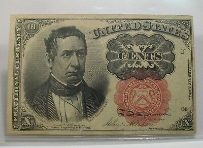 United States 10 Cents 5th Issue Fractional Currency FR-1266