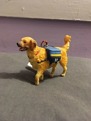 Hiking Dog with dog pack Christmas Ornament GSI Outdoors NEW