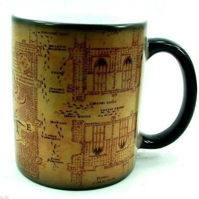 Magic Heat Sensitive Color Changing Coffee Cup Unisex Harry Potter Map Mug