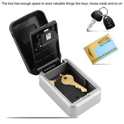 4 Digit Outdoor High Security Wall Mounted Key Safe Box Code Secure Lock-Storage