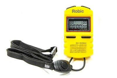 QUICKCAR RACING PRODUCTS 51-039 Stopwatch Yellow
