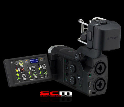 Zoom Q8 Handy Recorder Interchangeable Microphone System Dslr
