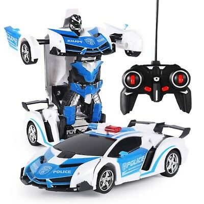 Toys for Kids Transformer RC Robot Car Remote Control 2 IN 1 Boys Xmas Gift AU