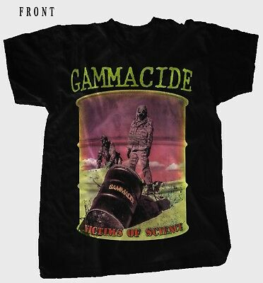 GAMMACIDE-Victims of Science-Thrash Metal-Evildead, T-shirt sizes: S to 7XL