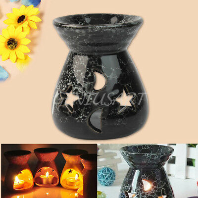 New Durable Ceramic Essential Oil Burner Fragrance Aromatherapy Diffuser PJP