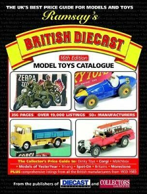 Ramsay's British Diecast Model Toys Catalogue by Rick Wilson 9781910525043