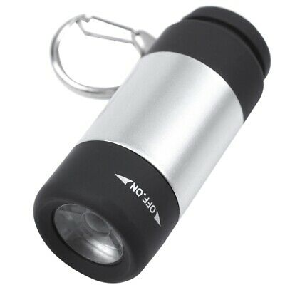 4X(1 pcs USB Mini Torch Flashlight LED Portable Rechargeable with door key L4Y2)