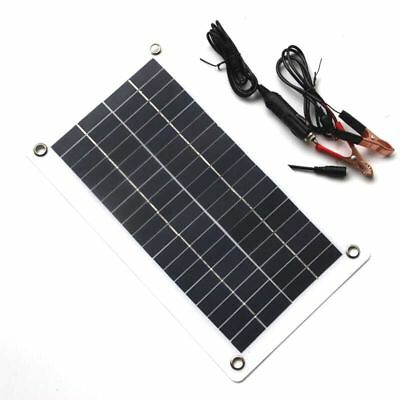 10W 18V 12V Portable Solar Panel Charger with DC 5521 Cable For 12V Car Boa F6P7