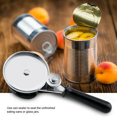 Manual Can Sealer Can Jar Sealing Press Tool Stainless Steel for Kitchen Storage