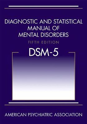 DSM-5- Diagnostic and Statistical Manual of Mental Disorders 5th  E-B0QK.P;DF