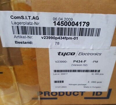 Tyco V23990P434Fpm-01  Power Module Qty: 1 (Motor Shelving)