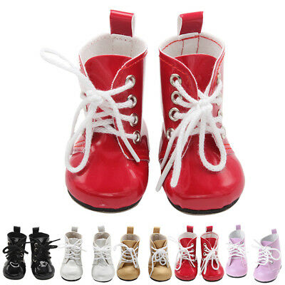 """Fashion Inch Shoes Frontier Doll Ankle Gift Lace Party Boots For 18"""" Up Girl"""