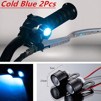 Motorcycle Daytime Cold Blue Spot 2x 5630 Led Auto Accessories Light Running
