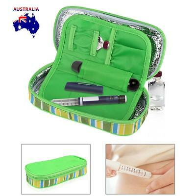 Insulin Pen Case Pouch Cooler Travel Diabetic Pocket Cooling Protector Bag AU