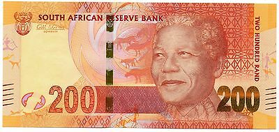 SOUTH AFRICA 200 Rand ND 2012 P137 Gill Marcus Nelson Mandela UNC Banknote