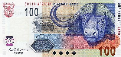 SOUTH AFRICA 100 Rand ND 2005 P131b Gill Marcus UNC Banknote