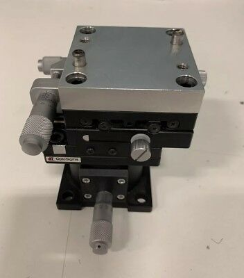 Opto Sigma, Optosigma, X, Y, Z, Stages, Metrics With Micrometers, Machinist Tool