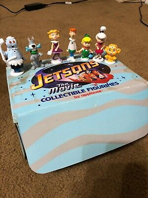 Hanna Barbera The Jetsons Vintage Applause PVC 7 Figure Lot Set Rosie George ++