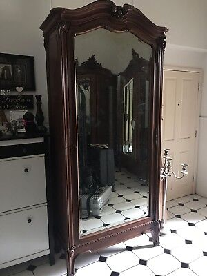 Gorgeous large Original French Recocco Single Door  armoire wardrobe