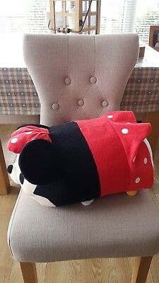 Huge Disney Store Minnie Mouse Tsum Tsum Soft Toy Plush