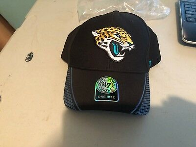 separation shoes 2189e c941b Jacksonville Jaguars  47 Brand Black Adjustable -- 47 MVP Hat   Baseball Cap