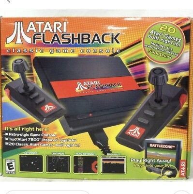 Atari 7800 Flashback Classic Game Console, Includes 20 Games, NEW, Free Shipping