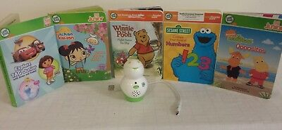 Leapfrog Tag Junior Jr Reading System Lot Reader 5 Books  (USED)