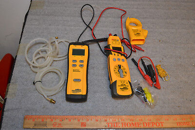 Manometer and Multimeter Field Piece SDMN5 HS36