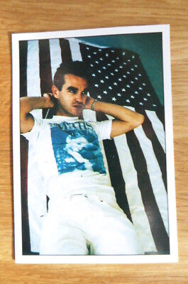 The Smiths Morrissey Panini The Smash Hits Collection 87 Sticker 1987 Mint