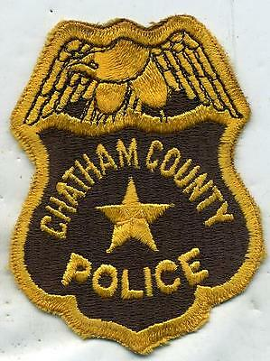 Georgia Chatham County Police Patch