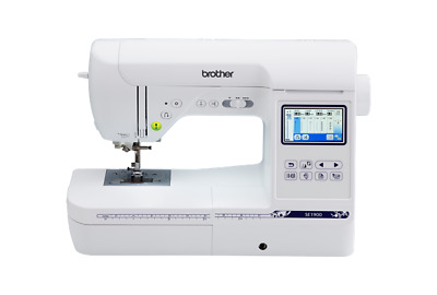 BROTHER SE1900 Embroidery Sewing Combo Machine